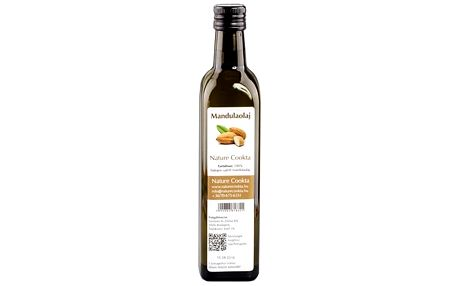 NATURECOOKTA Mandlový olej 250 ml