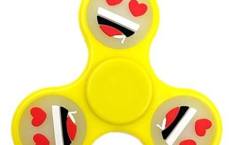 Antistresová hračka Hand Spinner - fosforová