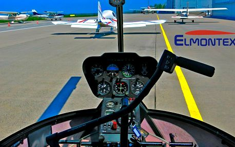 Lety vrtulníkem: okruhy o délce 5, 10 a 15 minut