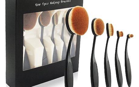 Sada 5 ks profesionálních štětců na make-up