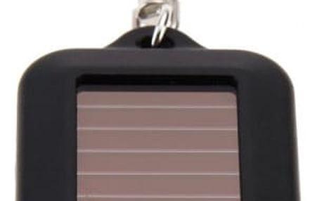 Solární LED svítilna na klíče