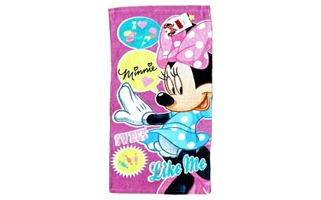 Dětský ručník Minnie - Sweet like me