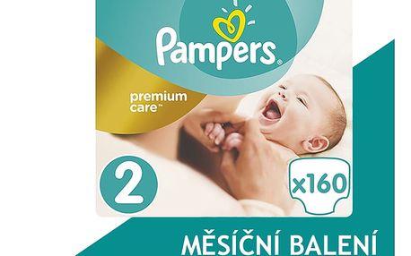 Pampers Plenky Premium Care 2 (Mini) 3-6 Kg - 160 ks