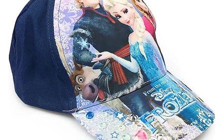Dětská kšiltovka Frozen - modrá
