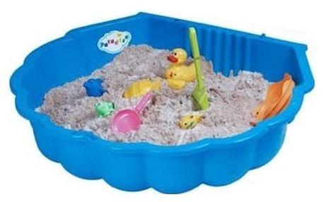 Pískoviště - bazének mušle SANDY2