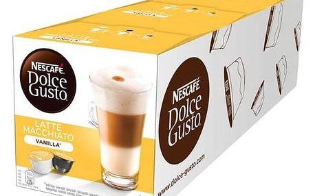 Kapsle pro espressa Nescafé Dolce Gusto Latté Macchiato Vanila 3 balení
