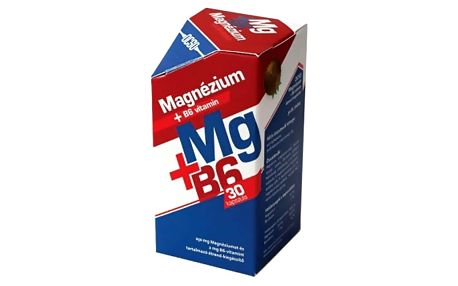 OCSO Magnézium s vitamínem B6 30 tbl