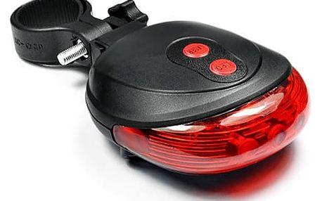 LED zadní světlo na kolo