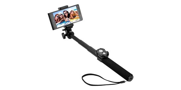 GoGEN 5 Selfie tyč teleskopická, bluetooth, černá - GOGBTSELFIE5B