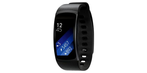 Samsung Galaxy Gear Fit 2, velikost L, černá - SM-R3600DAAXEZ