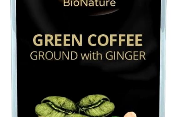 Bionature Zelená káva se zázvorem 250 g