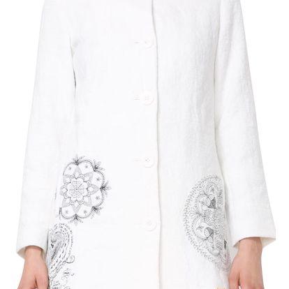 Desigual bílý kabát Eva - 40