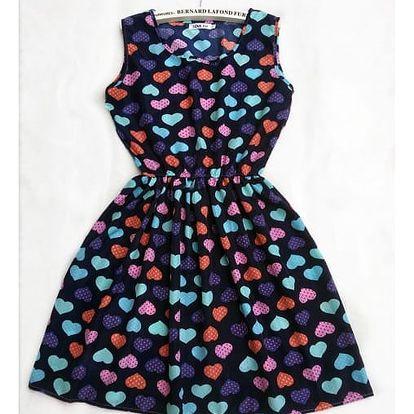 Rozmanité šaty s krásnými letními vzory a elastickým pasem - 21 vzorů