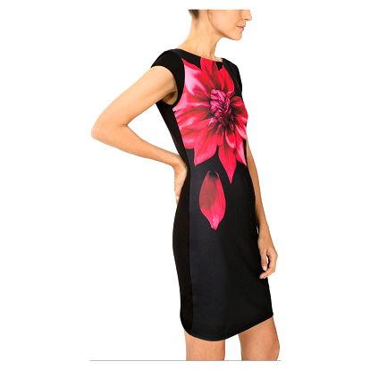 Desigual černé šaty Isla - M
