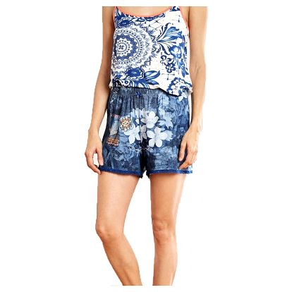 Desigual denimové domácí kraťasy Exotic Jeans - XL