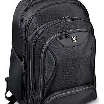 Port Designs MANHATTAN batoh na 13/14'' notebook a 10,1'' tablet, černá - 170230 + Zdarma PORT CONNECT - přenosný outdoorový Bluetooth reproduktor (v ceně 349,-)