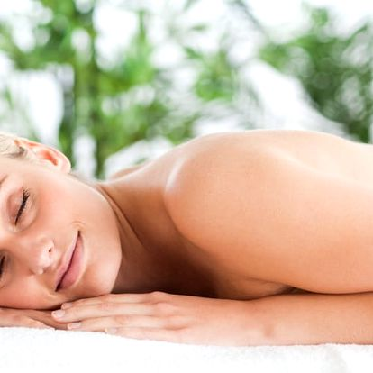 Hloubková terapeuratická masáž + akupresura, zábal