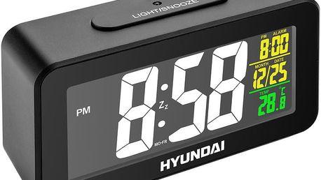 Hyundai budík AC 321, černá - HYUAC322B