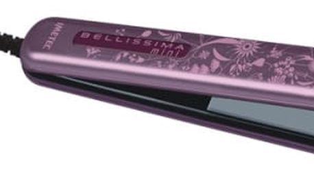Žehlička na vlasy Imetec Bellissima 1857S MINI bílá/fialová