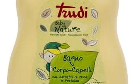 TRUDI BABY Nature hypoalergenní dětské koupelové mléko a šampon - sedmikráska a vřes 400 ml
