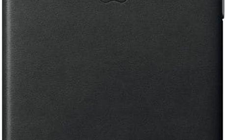 Apple Kožený kryt na iPhone 7 – černý - MMY52ZM/A