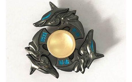 Fidget spinner v překrásně zdobených vzácných tvarech
