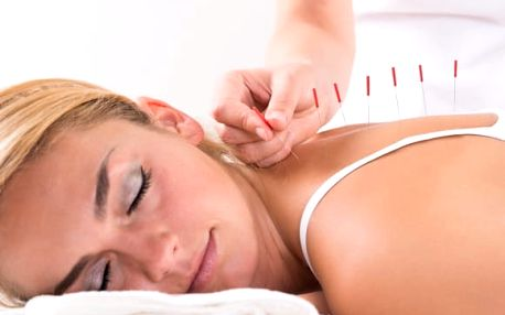 Akupunktura, lymfodrenáž, a radiofrekvence