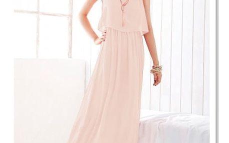 Dámské šaty v dlouhém provedení - 8 barev