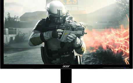 """Acer KG241Qbmiix Gaming - LED monitor 24"""" - UM.UX1EE.001 + Kabel HDMI/HDMI, 1,8m M/M stíněný (v ceně 299,-)"""