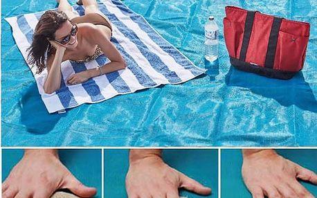 Velká venkovní podložka Arena 200 x 150 cm - Již žádný písek na dece u moře!