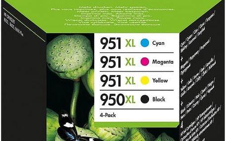 HP C2P43AE, Combo Pack, č. 950XL/951XL – ušetřete až 20 % oproti standardní náplni + Zdarma SAFEPRINT A4 20 listů, lesklý ( v ceně 121,- )