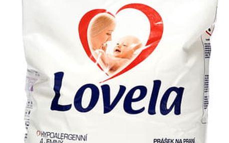 Lovela Prášek bílá, 5 kg / 40 pracích dávek