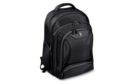 Port Designs MANHATTAN batoh na 13/14'' notebook a 10,1'' tablet, černá - 170230 + Zdarma RP0292 PORT CONNECT Naos, bezdrátová myš, černá (v ceně 259)