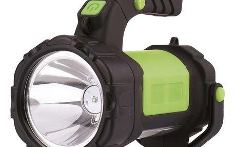 Nabíjecí LED svítilna Emos P4517 - E208A, 3W CREE + 12 LED