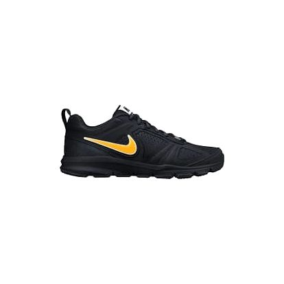 Pánská fitness obuv Nike T-LITE XI NBK 43 BLACK/LASER ORANGE-WHITE