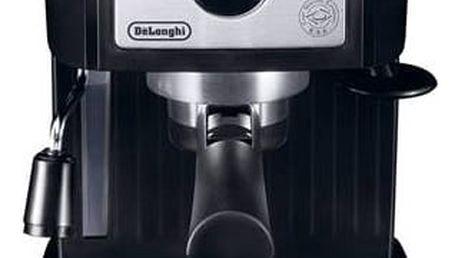 Espresso DeLonghi EC 156.B černé/stříbrné + Doprava zdarma