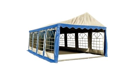 Party stan Hawaj 4x8 m (modro-bílý)