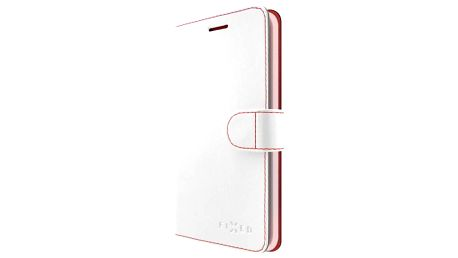 Pouzdro na mobil flipové FIXED FIT pro Apple iPhone 5/5S/SE (FIXFIT-002-WH) bílé
