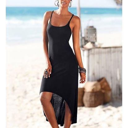 Dámské plážové šaty - černá