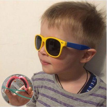 Gumové dětské sluneční brýle