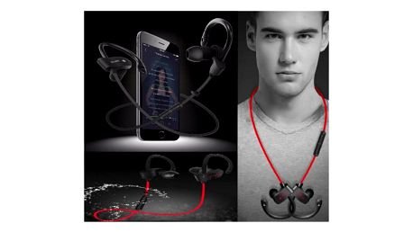 Bezdrátová sluchátka za uši Live Music