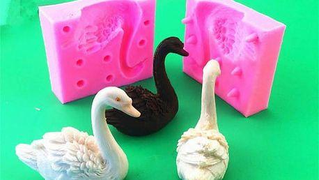 Silikonová forma 3D labuť