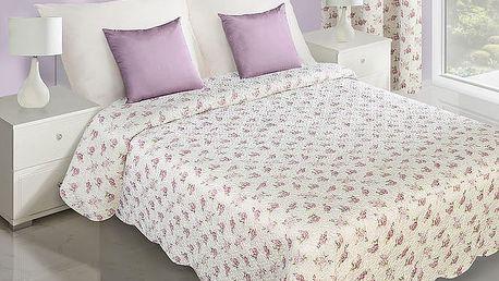 Přehoz na postel ALICE 220x240 cm smetanová Mybesthome