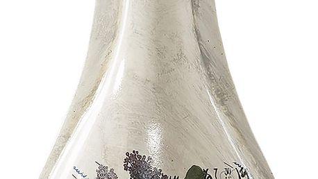 VALO dekorativní váza béžová 14x10x36 cm Mybesthome