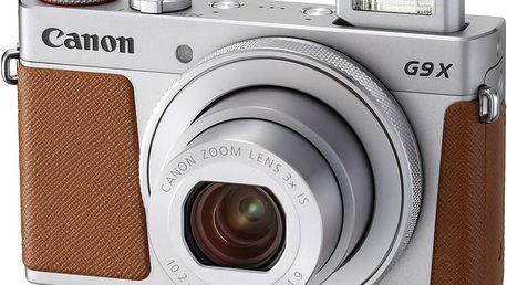 Canon PowerShot G9X Mark II, stříbrná - 1718C002
