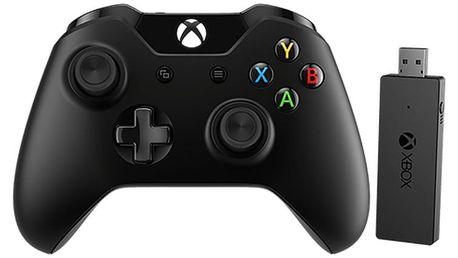 Microsoft Xbox ONE Gamepad, bezdrátový (PC, Xbox ONE) - NG6-00003