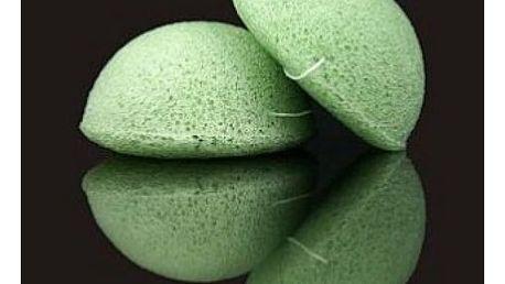 Konjak houba polštářek zelený čaj - přírodní péče o Vaši pokožku!