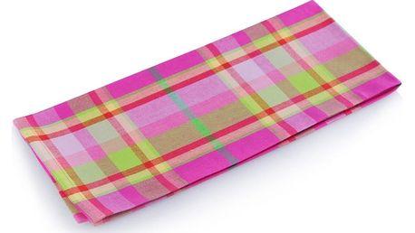 Kuchyňská bavlněná utěrka SORBET, 45x70 cm, růžová, HOME & YOU 100% bavlna