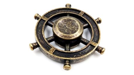 Fidget spinner ve vintage provedení