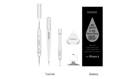 iPhone Replacement Battery (For iPhone 6) (With toolkit) - IP06-201-01